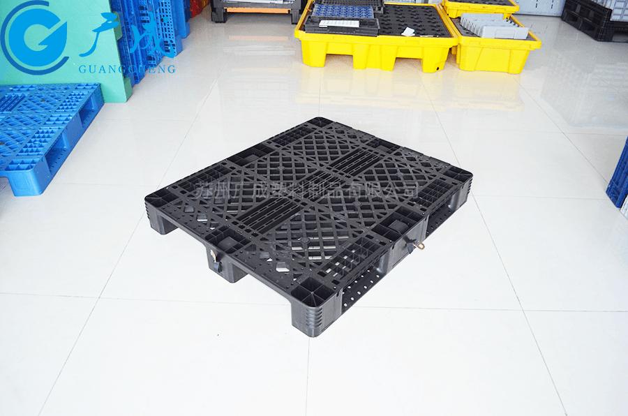 1210網格川字出口塑料托盤正面