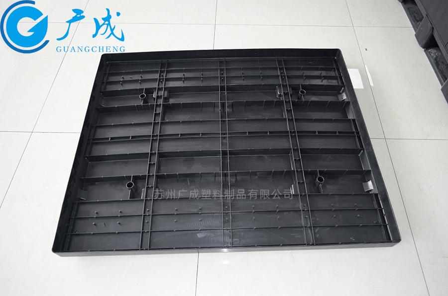 1210B川字塑料托盤蓋反面