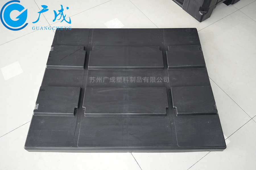 1210B川字塑料托盤蓋正面