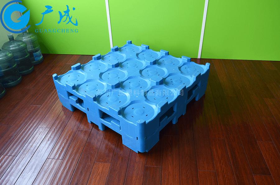 桶裝水1080九腳塑料托盤堆碼