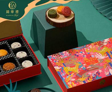 香港锦华-锦华福鹿迎月月饼礼盒