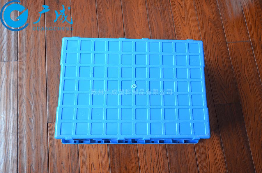 箱底采用磨砂防滑設計,耐磨損,且有助于在堆垛時安全性、穩定性,有利于在傳送帶流水線上平穩使用