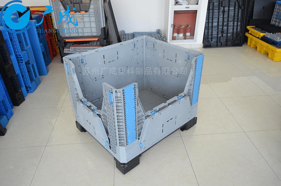 1210折疊卡板箱兩邊小門