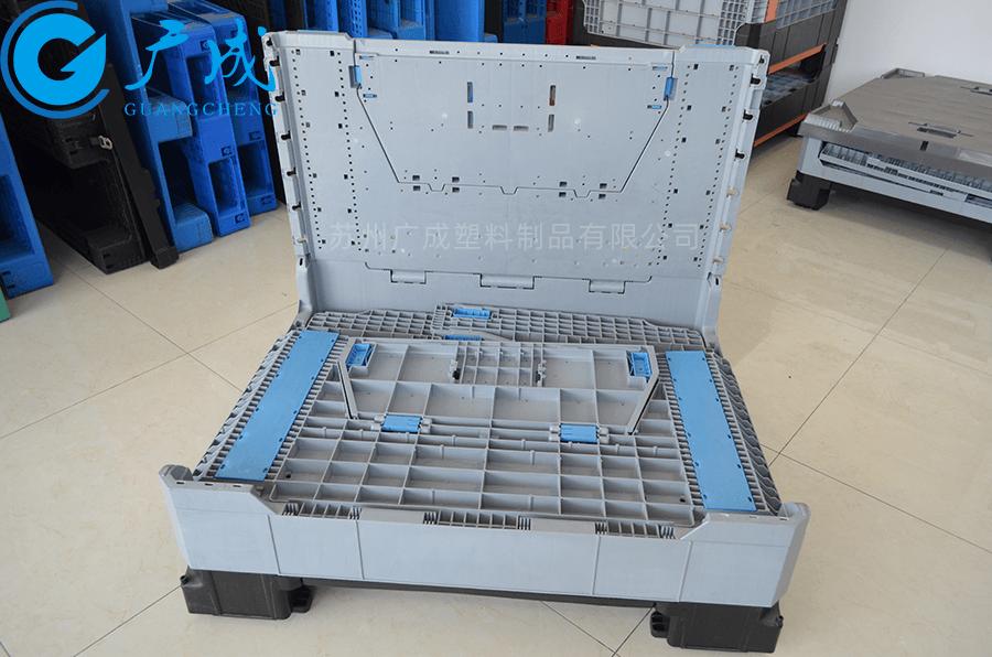 1210折疊卡板箱大門折疊