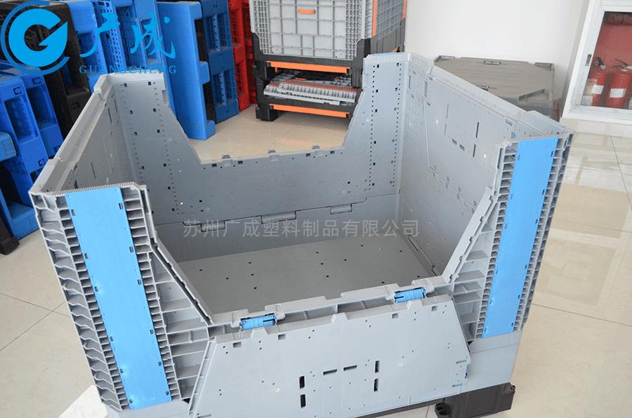 1210折疊卡板箱小門
