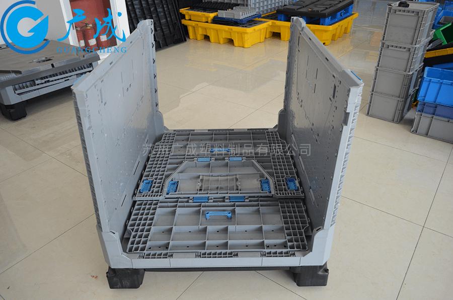 1210折疊卡板箱1000面大門對折