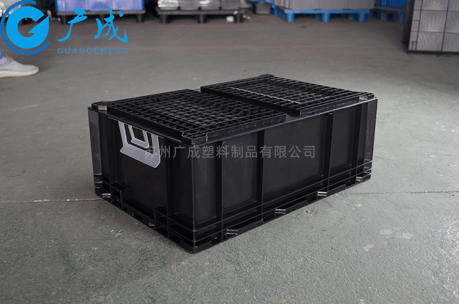 HP5C防靜電周轉箱反面