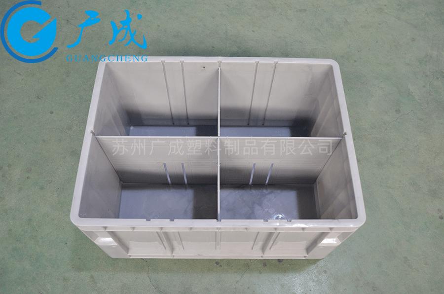 4632立库物流箱隔板组装