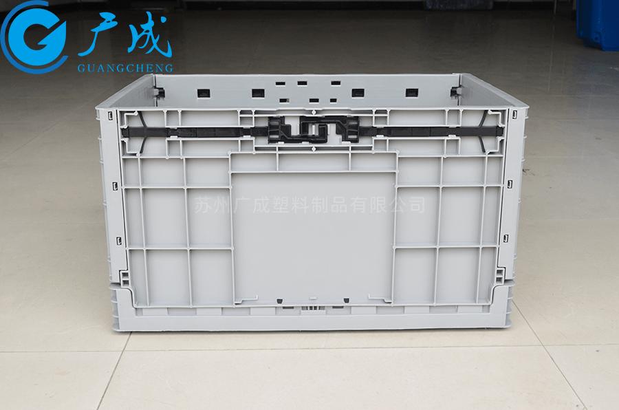 EUO4633折疊物流箱展開側邊面