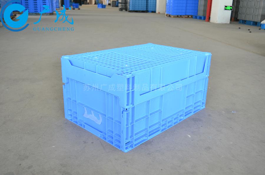 X11C折疊物流箱反面