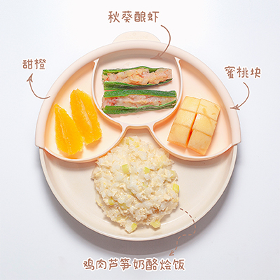 miniware小食堂 -秋葵酿虾奶酪烩饭