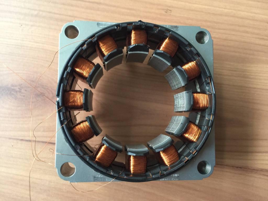 电机定子焊接