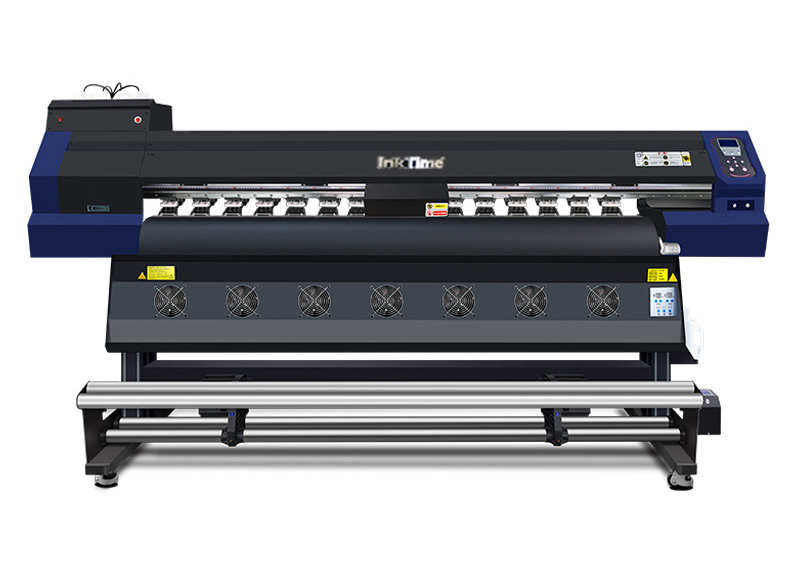 InkTime纺织印花热升华数码三喷头爱普生4720打印机 网络汉森版本升级 安装技术培训-广州金龙数码科技有限公司