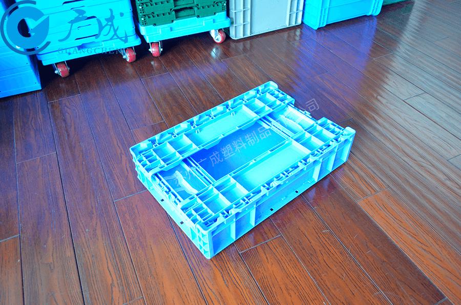 S504高位折疊箱折疊特寫