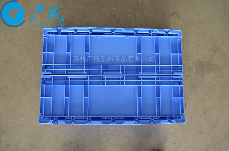 S806E折疊物流箱折疊