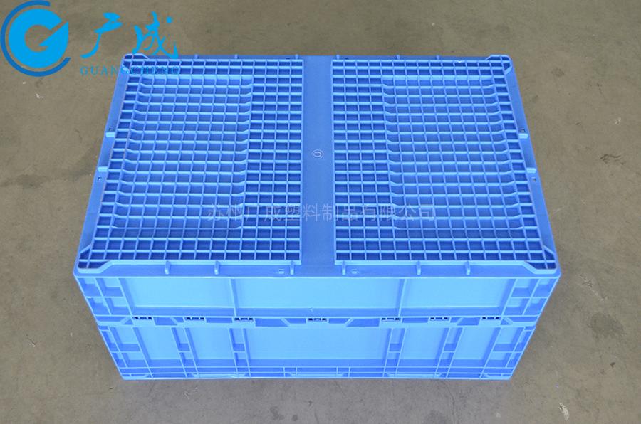 S806E折疊物流箱底部