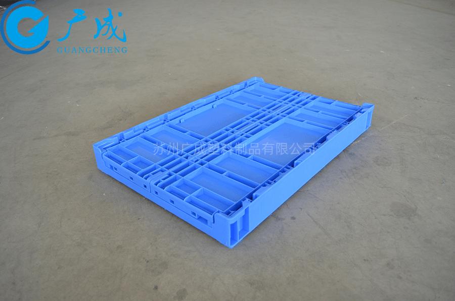 S806A折疊箱折疊特寫