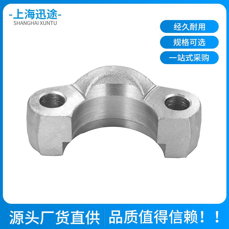 G係列 液壓管接頭 碳鋼扣壓液壓膠管三通直通接頭 軟管鍍鋅