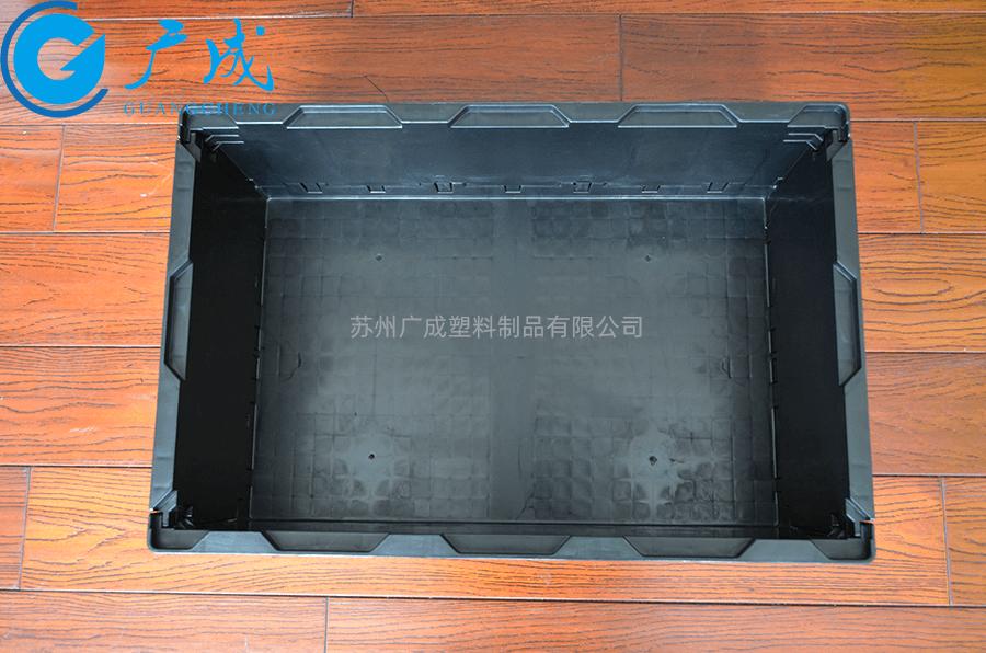 S504折疊箱展開內部細節
