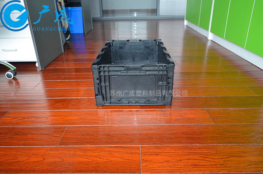 S504折疊箱展開寬邊面