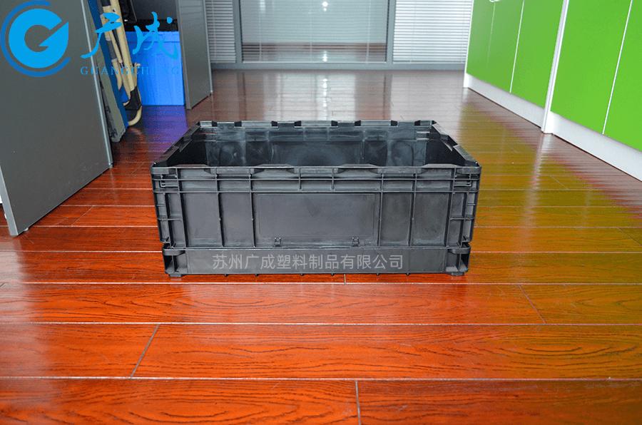 S504折疊箱展開長邊面