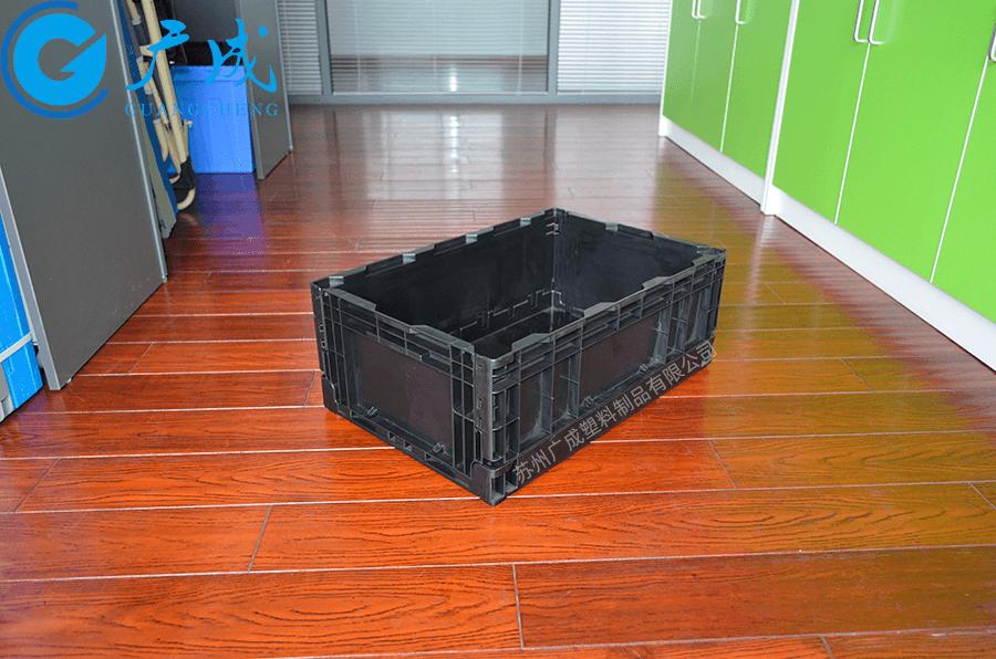 S504折疊箱展開特寫
