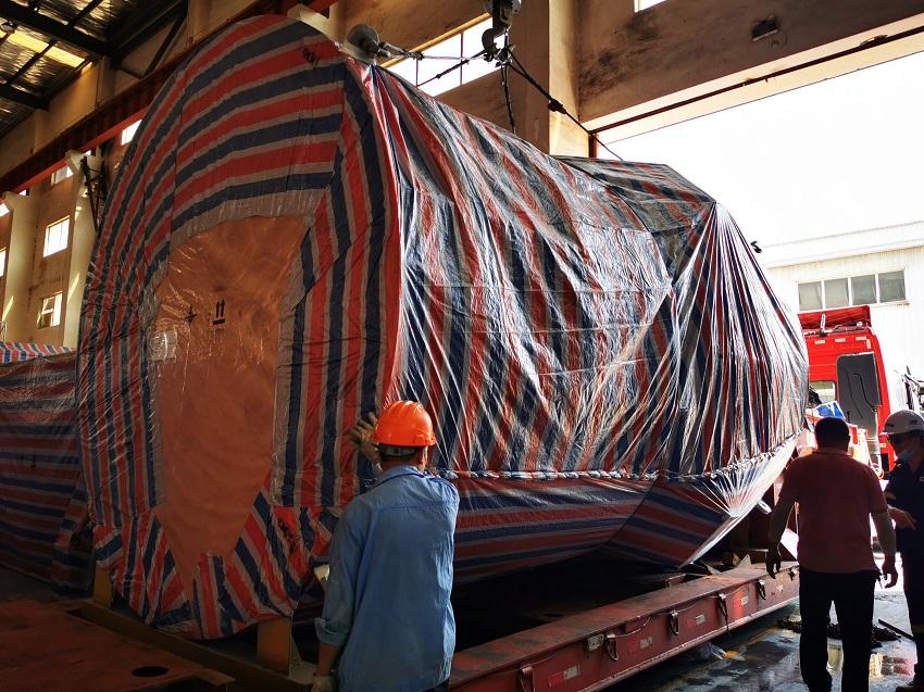 大件蒸汽锅炉设备运输   楚基物流运输