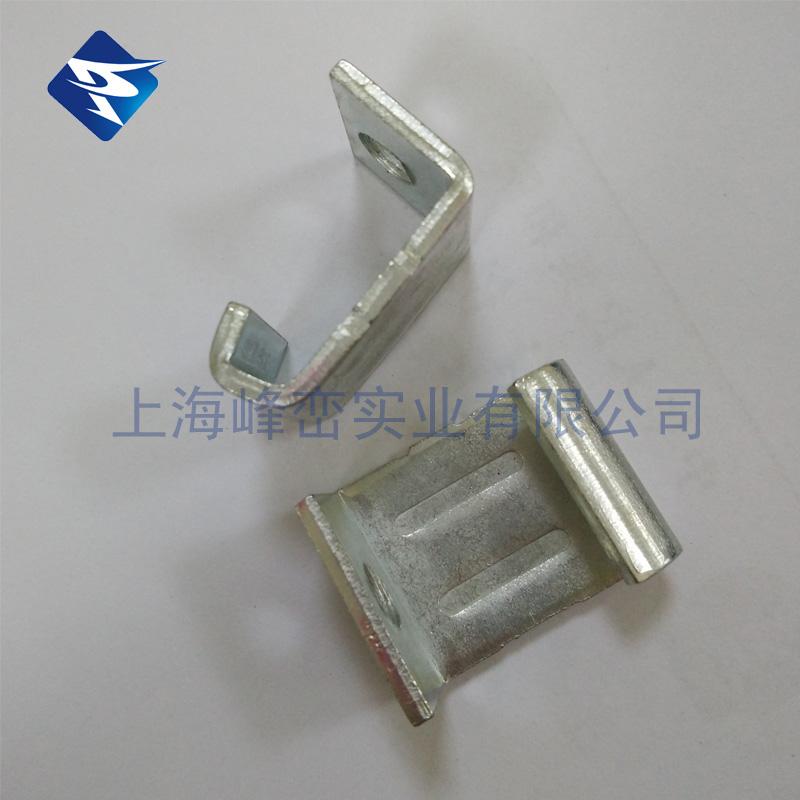 勾码 镀锌勾码角码 共板法兰风管勾码 厚度2.5mm钩码带螺丝