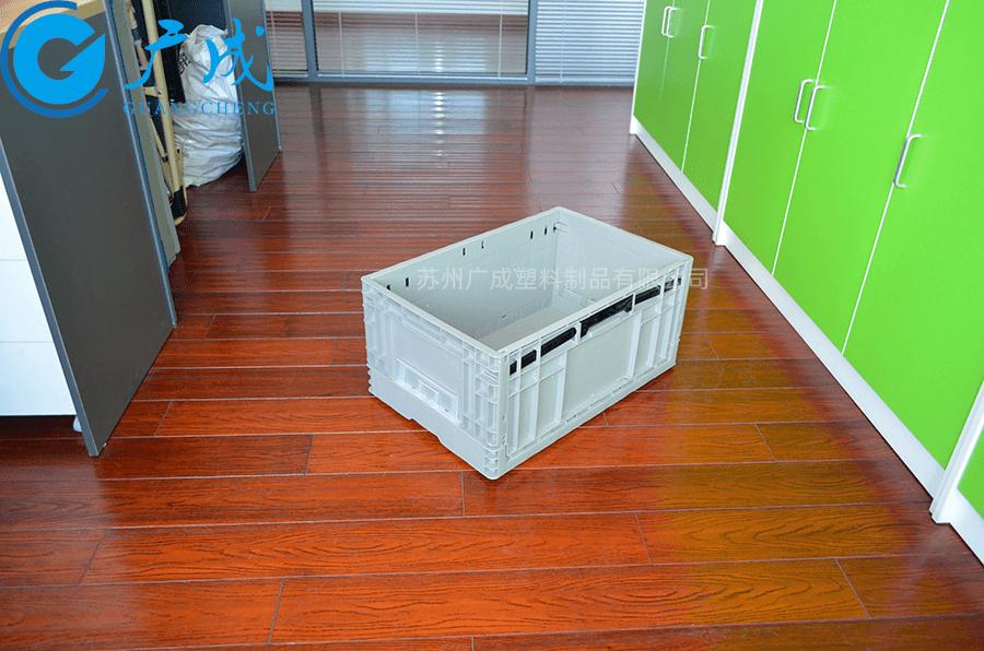 EUO4628折疊箱展開后正面