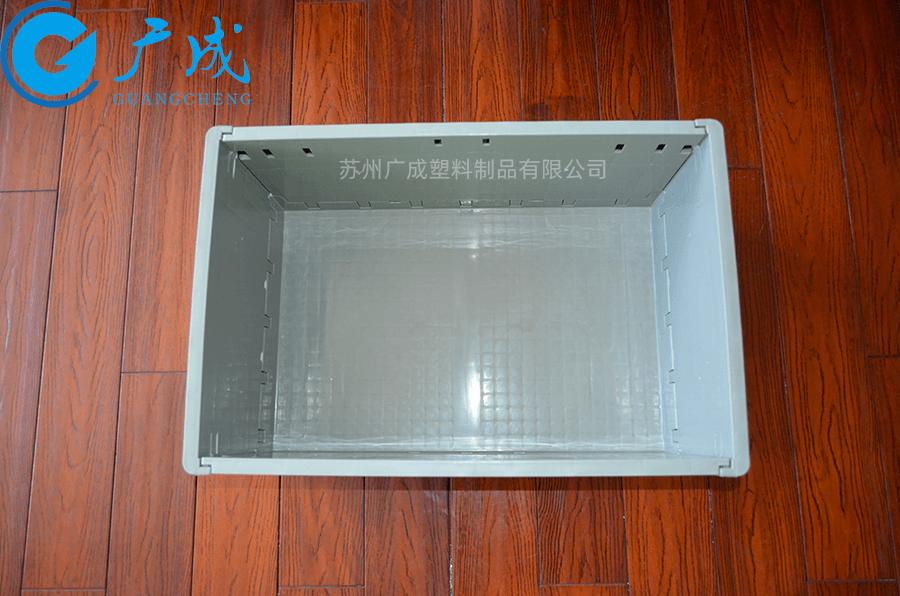 EUO4628折疊箱展開內部細節