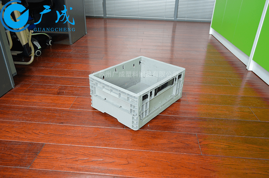 EUO4317折疊箱展開正面