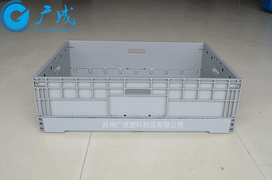 EUO8622折疊箱展開側邊面