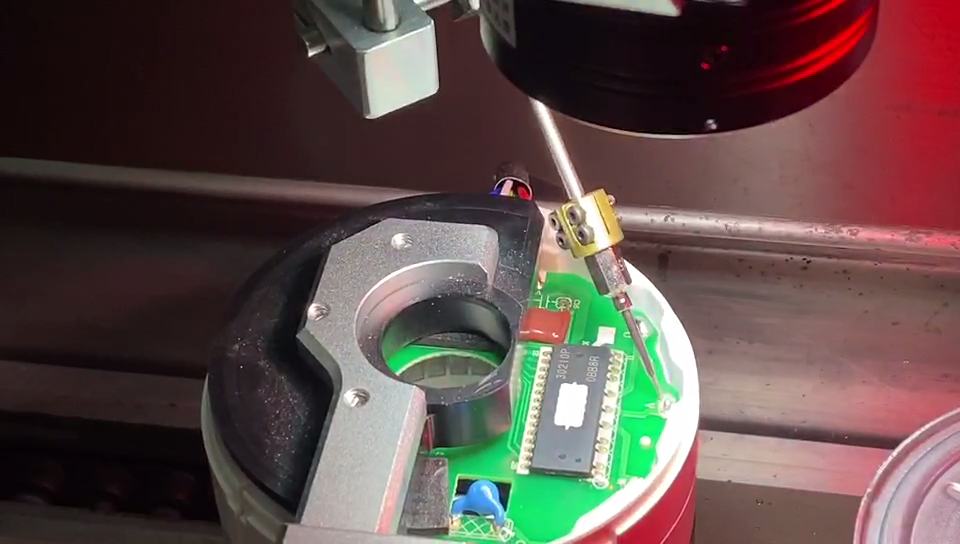空调电机、风扇电机激光焊锡工艺