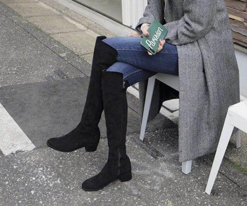 冬季穿什么鞋好看,各种靴子再适合不过了!