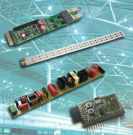LED灯板焊接
