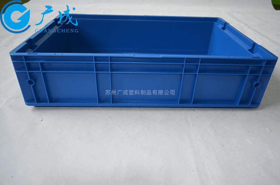 KLT6147物流箱印字烫金区域