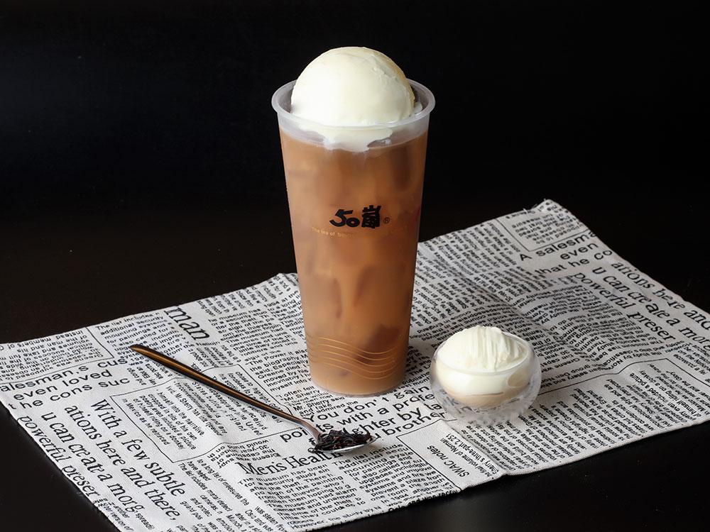 冰淇淋红茶