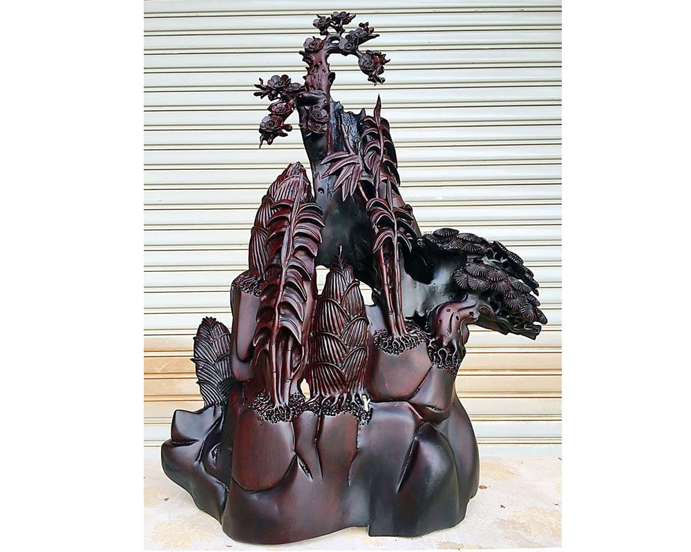 老挝大红酸枝 木料 原木 办公室家饰品摆设品 木雕工艺品根雕摆件