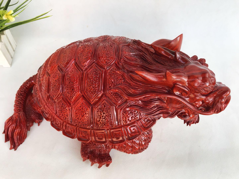 血檀 福寿龙龟