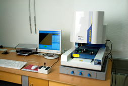安装在桌面隔振台BILZ-VITAP上的各种检测仪