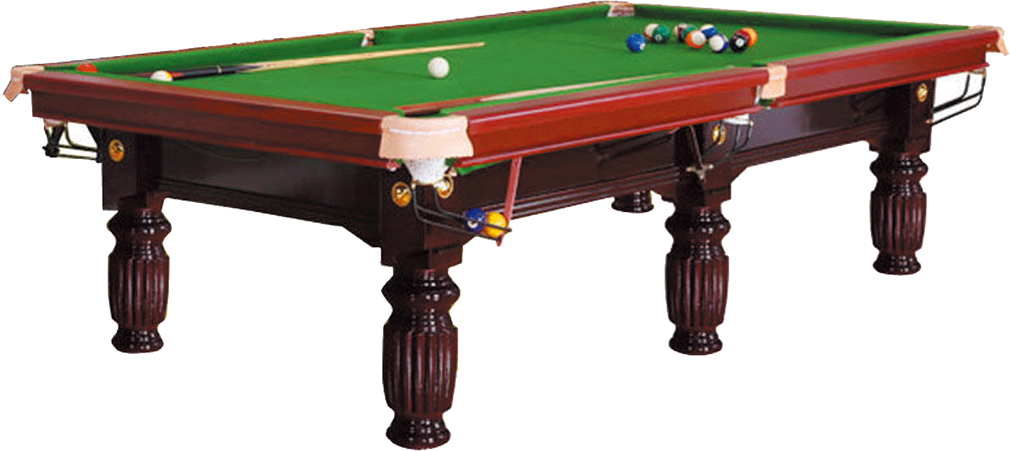 紅色美式臺球桌(9尺)