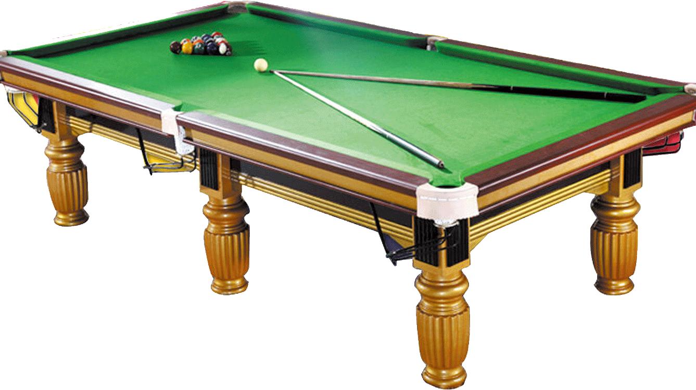 金色美式臺球桌(9尺)