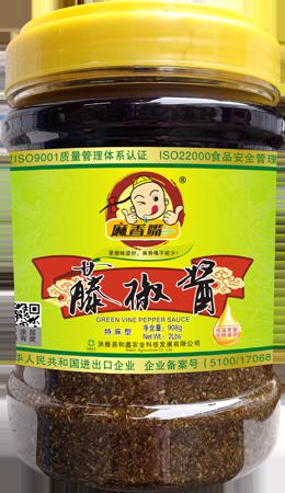 麻香嘴藤椒酱 908g