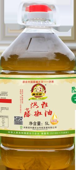 麻香嘴藤椒油 5L