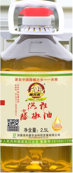 藤椒油2.5L