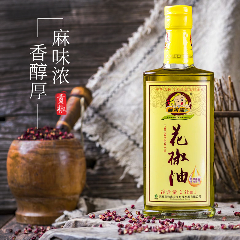 麻香嘴花椒油238ml