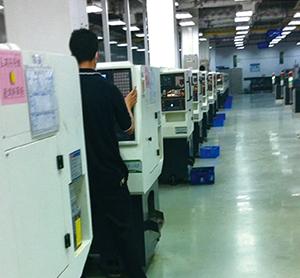 深圳富士康公司:生产iPhone,iPad零件