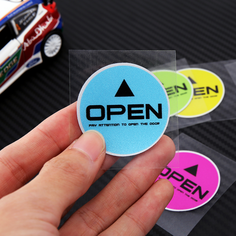 open警示反光实用汽车标