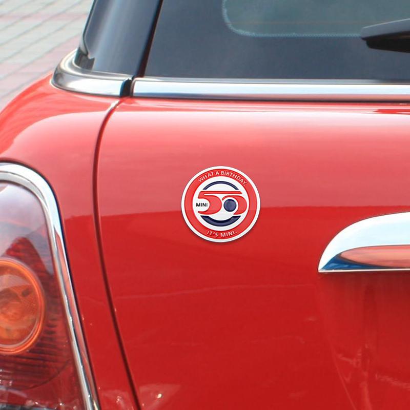 迷你50周年 铝合金车标