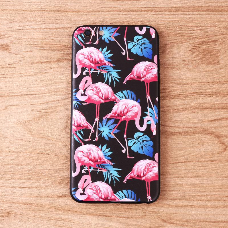 手机壳-火烈鸟